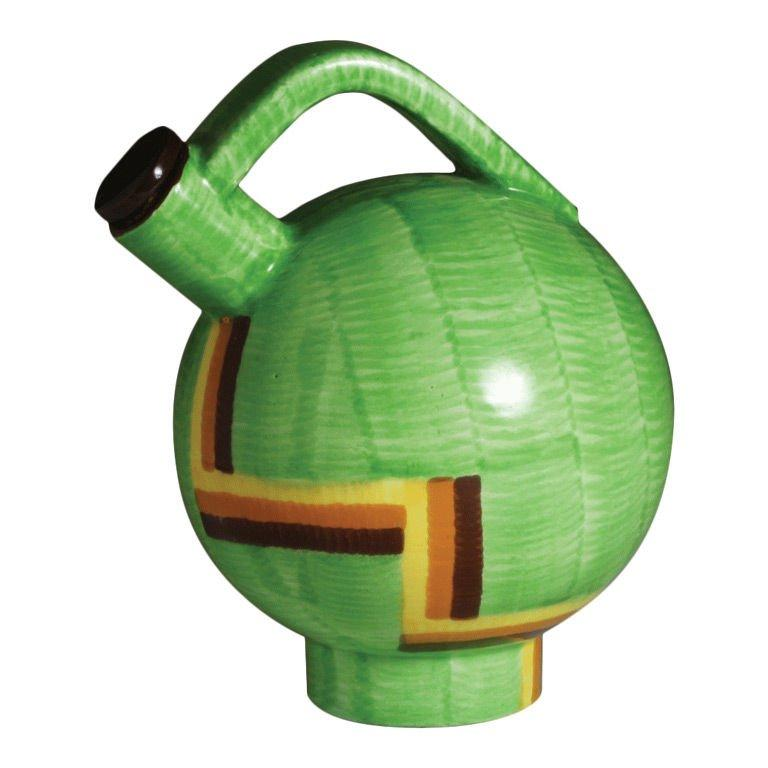 Art Deco Ceramic Jug by Eva Zeisel In Good Condition For Sale In New York, NY