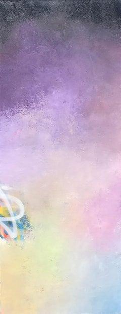 Daybreak, 2017, Acrylic, Oil, Spray Paint on Canvas, Signed on Verso