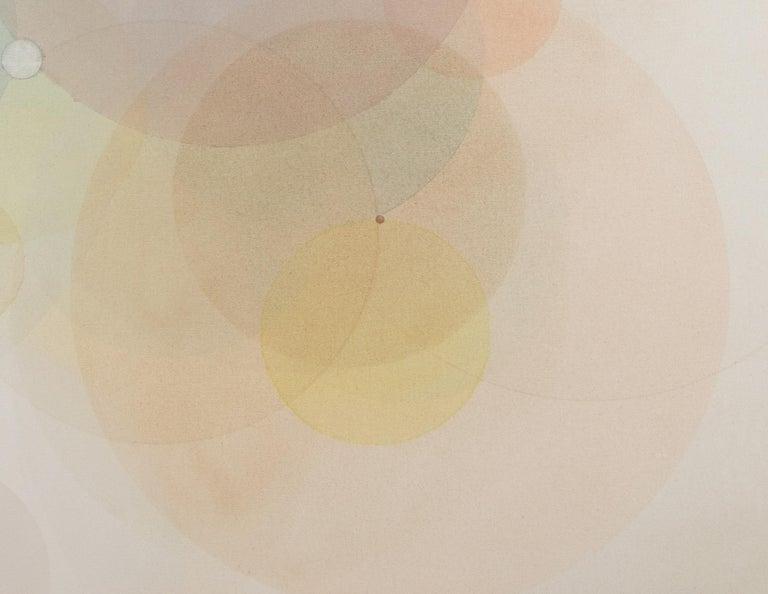 Day Map N2619 - Abstract Geometric Painting by Evan Venegas
