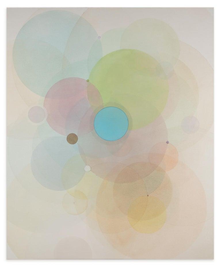 Evan Venegas Abstract Painting - Day Map N2619