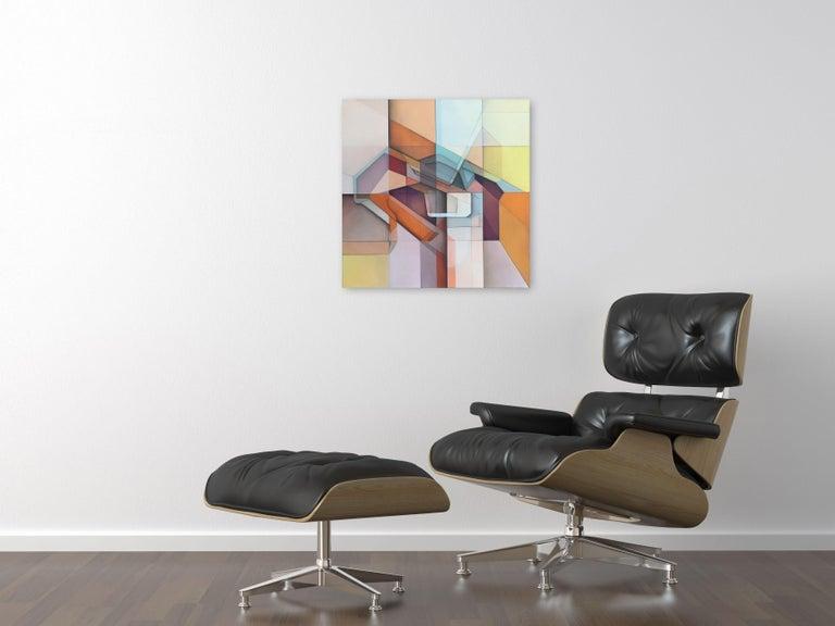 Lost Grid 319 - Painting by Evan Venegas