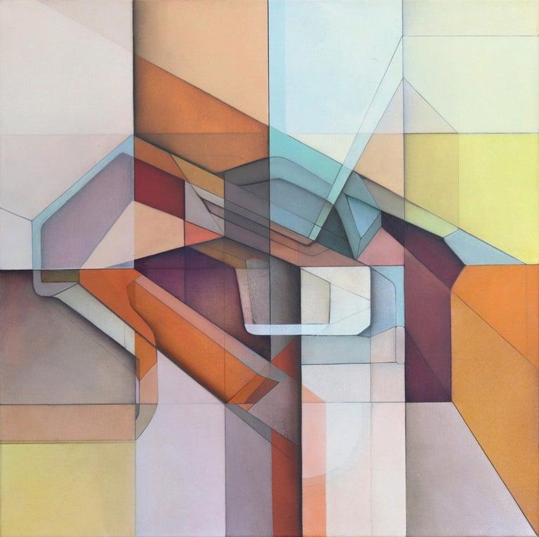 Evan Venegas Abstract Painting - Lost Grid 319