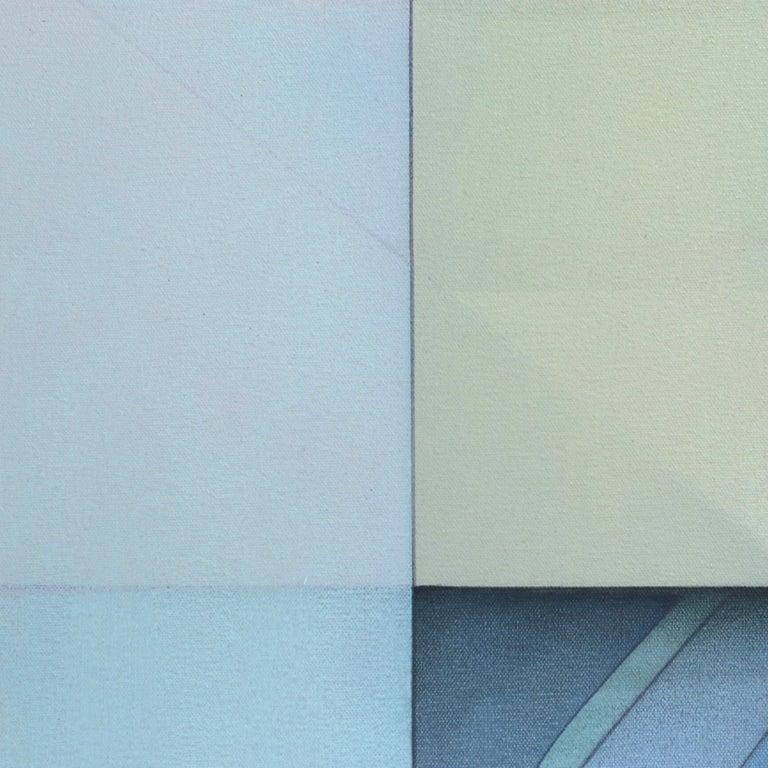 Lost Grid 71919 - Contemporary Painting by Evan Venegas