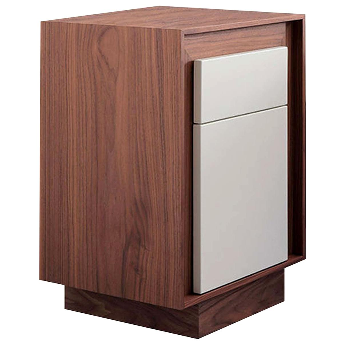 Evandro Wood Bedside Table