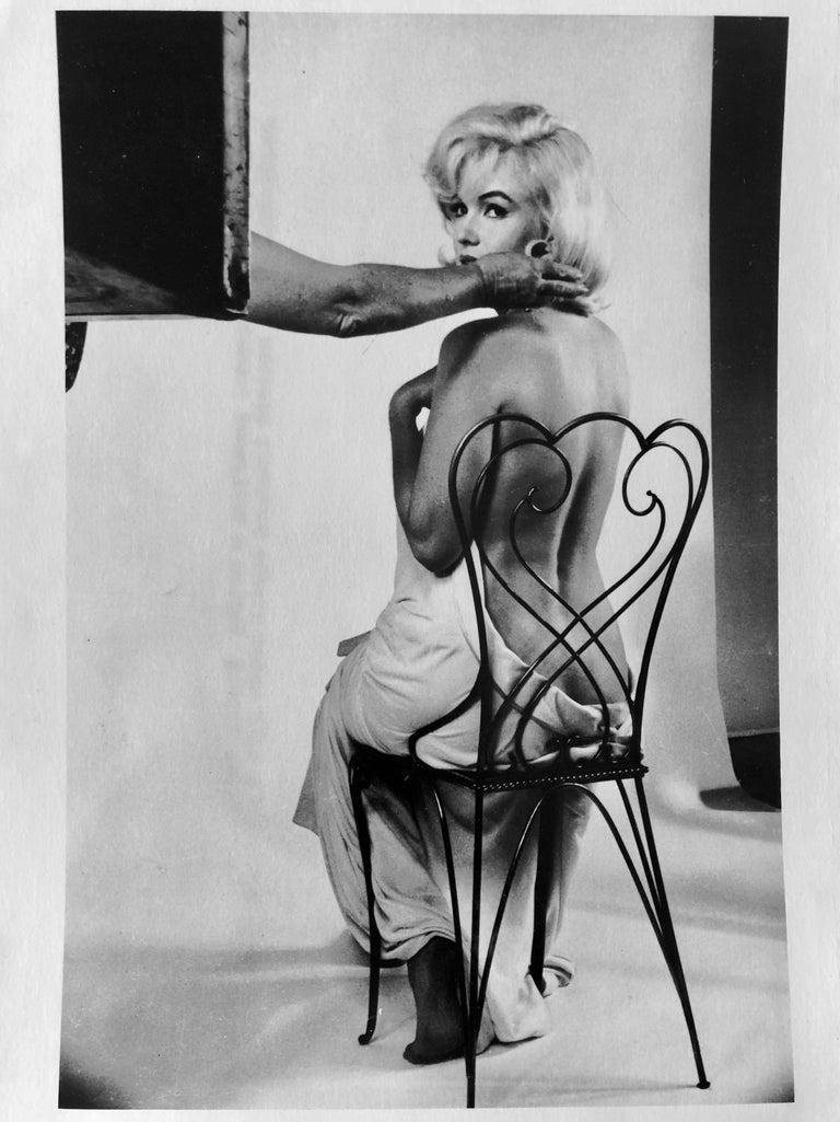 Vintage Silver Gelatin Magnum Press Photo Eve Arnold Marilyn Monroe Photograph For Sale 1