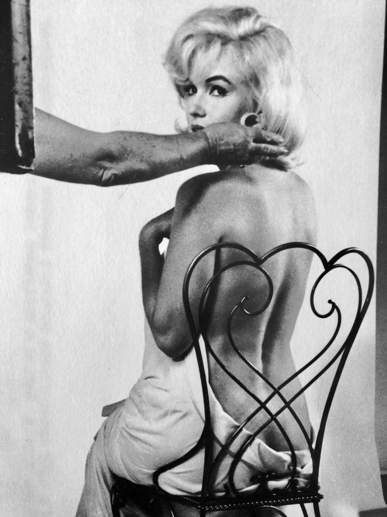 Vintage Silver Gelatin Magnum Press Photo Eve Arnold Marilyn Monroe Photograph For Sale 2