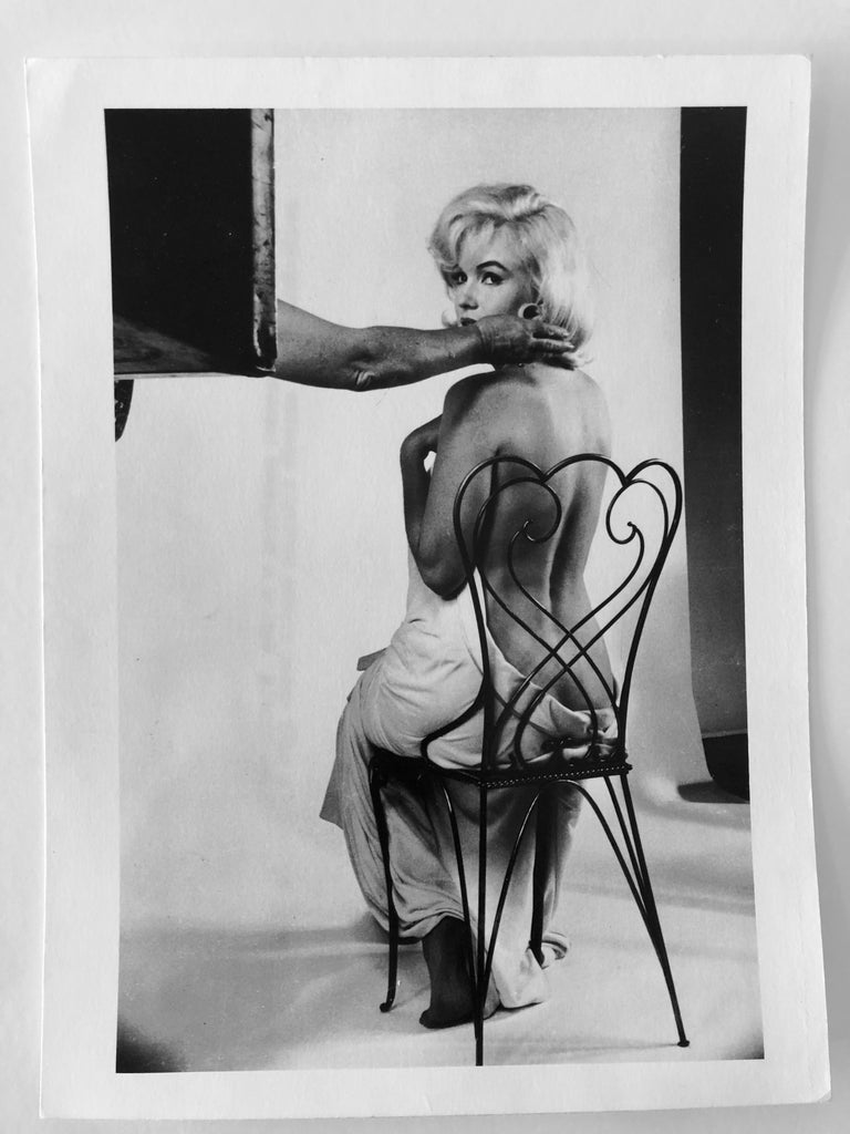 Vintage Silver Gelatin Magnum Press Photo Eve Arnold Marilyn Monroe Photograph For Sale 4
