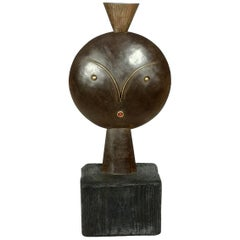 """""""Eve"""" by Laszlo Paul Horvath, Bronze and Brass on Marble Base, Late 20th Century"""