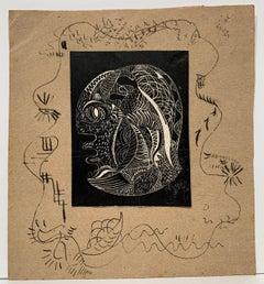 Head in Profile (cubist portrait)