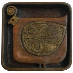 Evelyn Ackerman Carved Wood Bird Panel