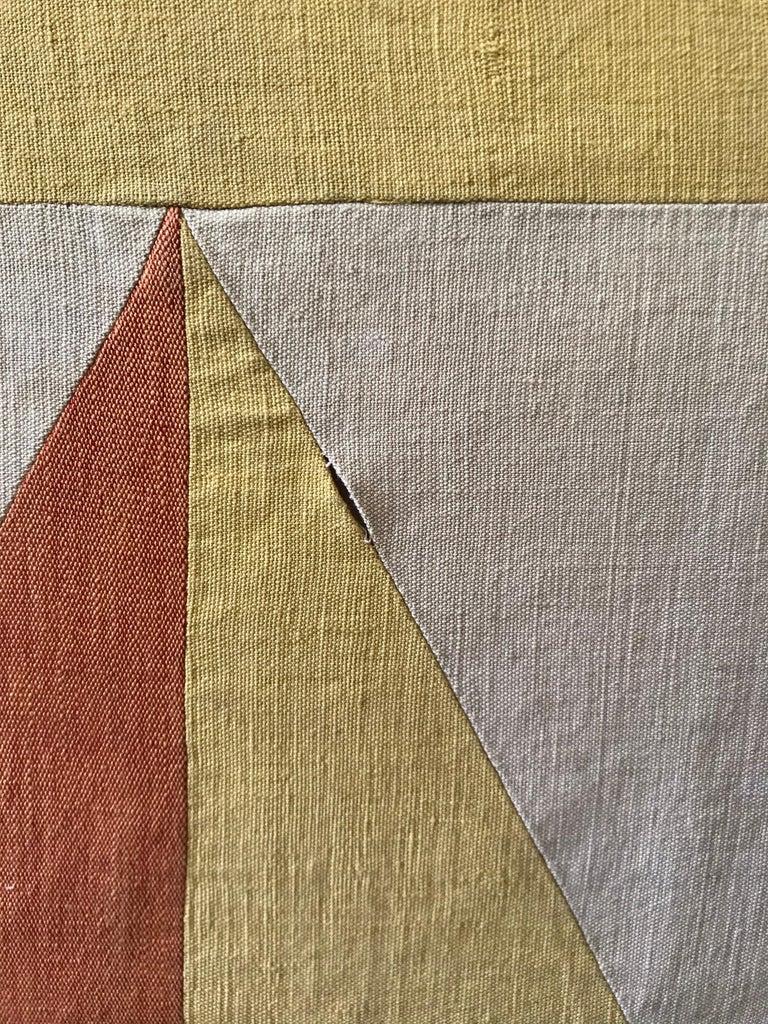 Evelyn Ackerman Hard-Edge Textile Art Tapestry  For Sale 5