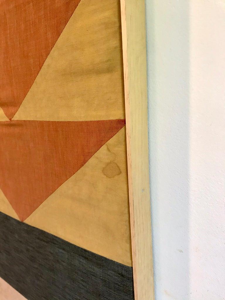 Evelyn Ackerman Hard-Edge Textile Art Tapestry  For Sale 1