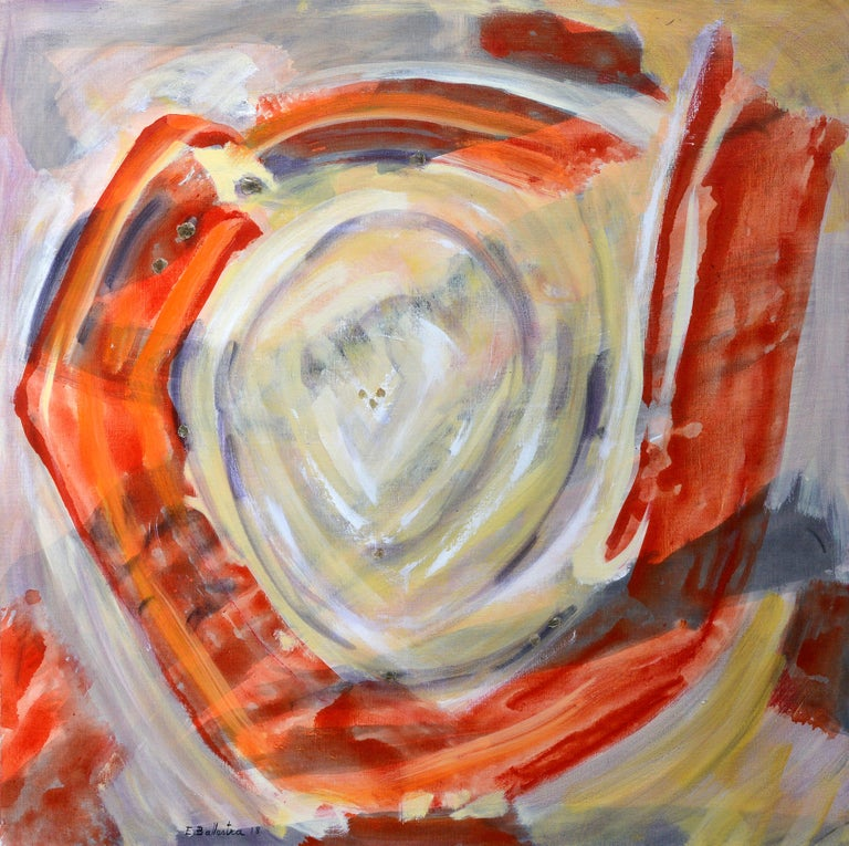 Evelyne Ballestra Figurative Painting -  Spirale Nout