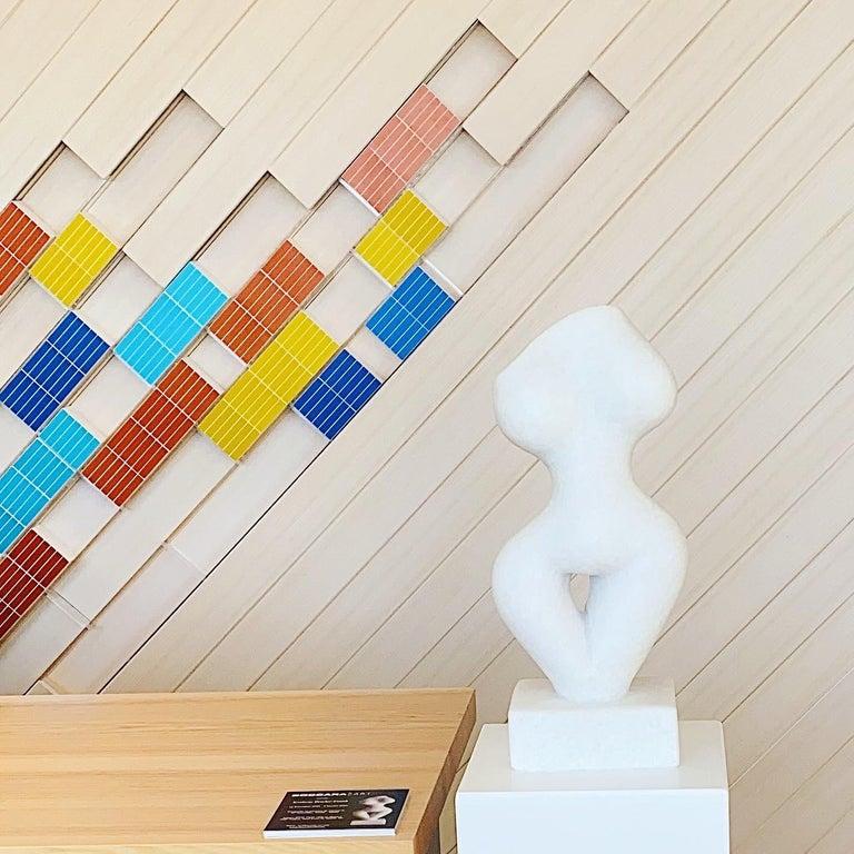 Blanchette - Sculpture by Evelyne Brader-Frank