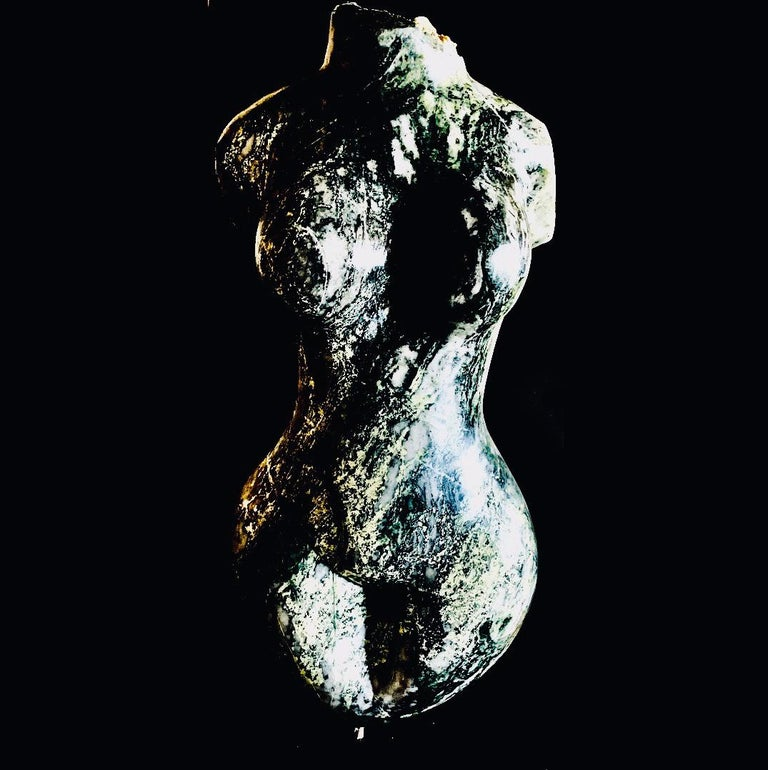 Evelyne Brader-Frank Nude Sculpture - Hero