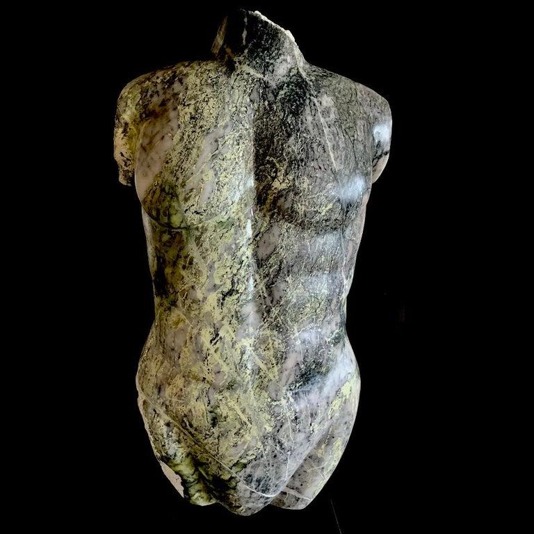 Evelyne Brader-Frank Nude Sculpture - Leander