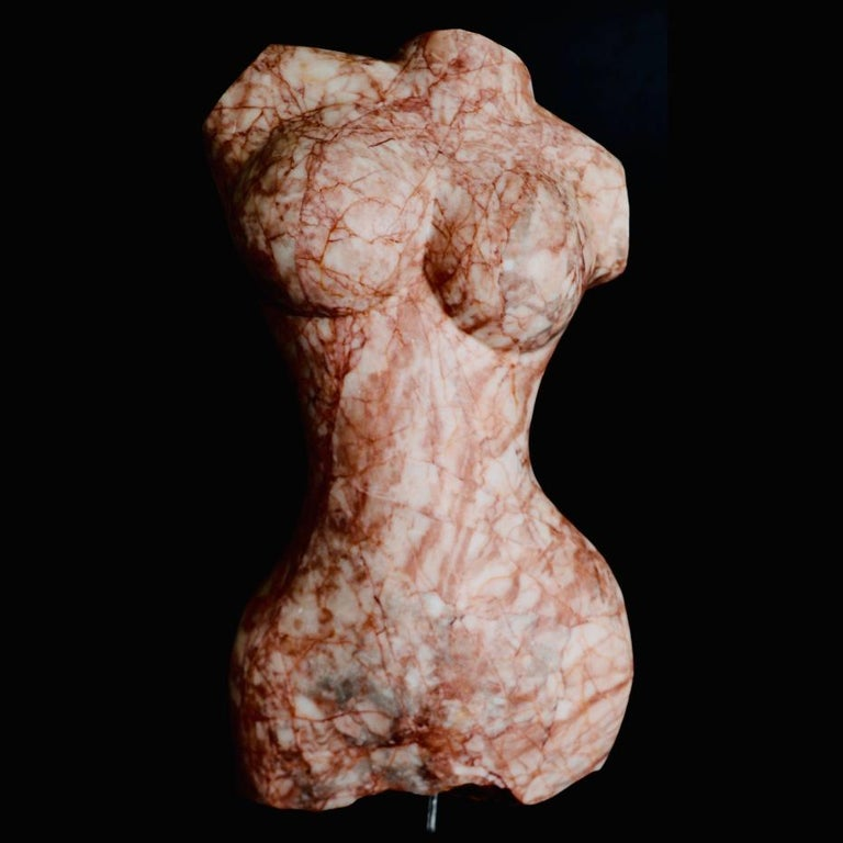 Tyche - Baroque Sculpture by Evelyne Brader-Frank