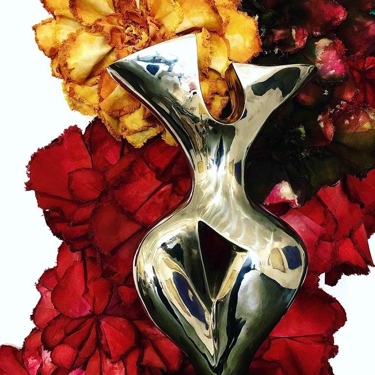 Evelyne Brader-Frank Figurative Sculpture - Vol