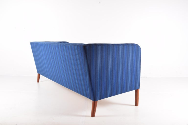Danish Even Arm Sofa by Hans Wegner For Sale
