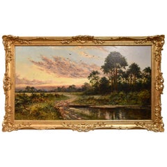 """""""Evening by the Common"""" by E.C Hamblin"""