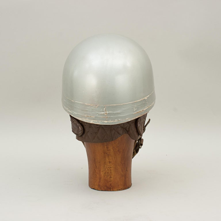 Everoak Motorcycle Helmet, Acu Approved Pudding Basin Helmet In Good Condition For Sale In Oxfordshire, GB
