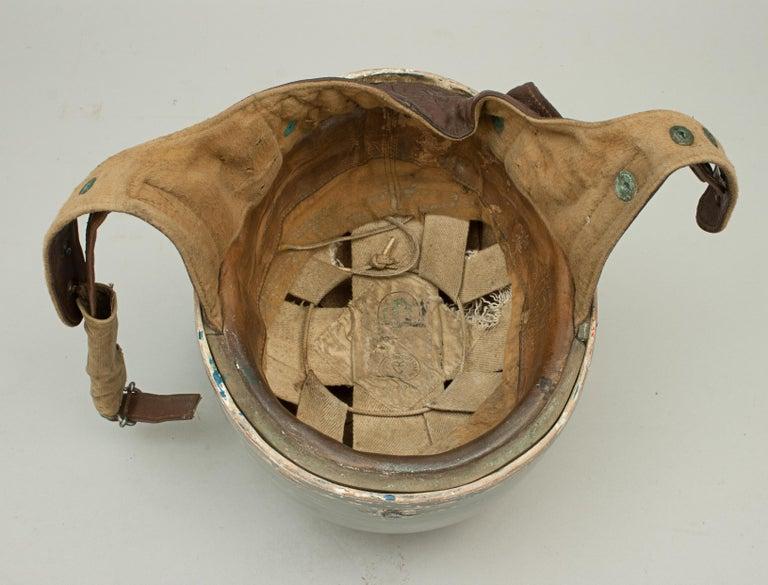 Silver Everoak Motorcycle Helmet, Acu Approved Pudding Basin Helmet For Sale