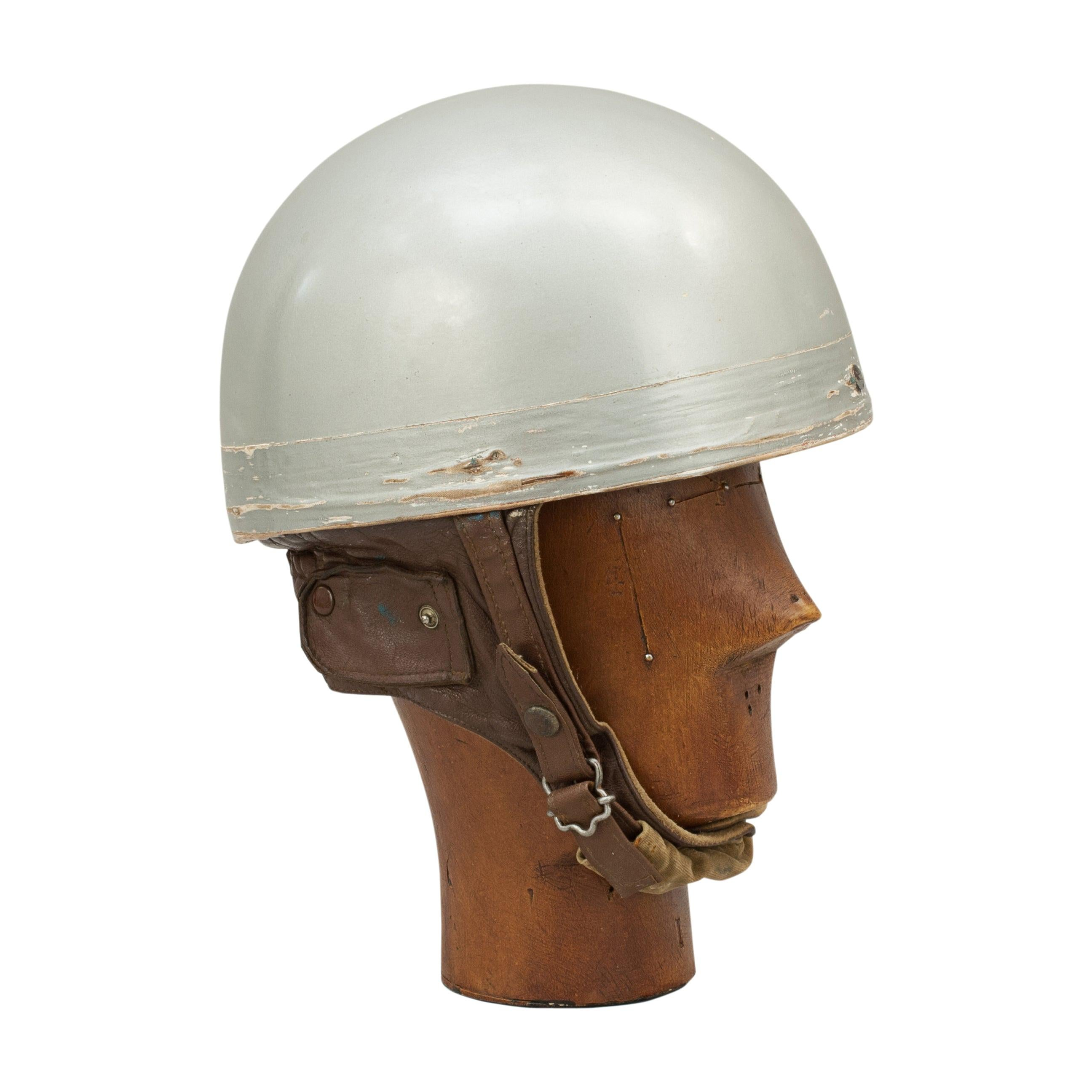 Everoak Motorcycle Helmet, Acu Approved Pudding Basin Helmet