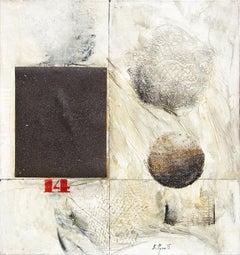 """Untitled"" Mixed media on canvas by Evgeny Rukhin, 1975"