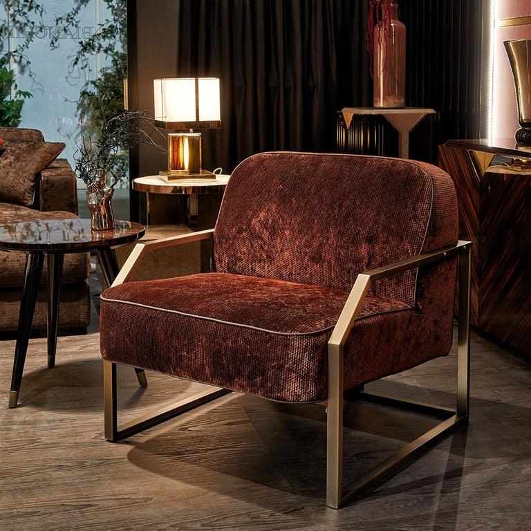 Italian Evie Armchair For Sale