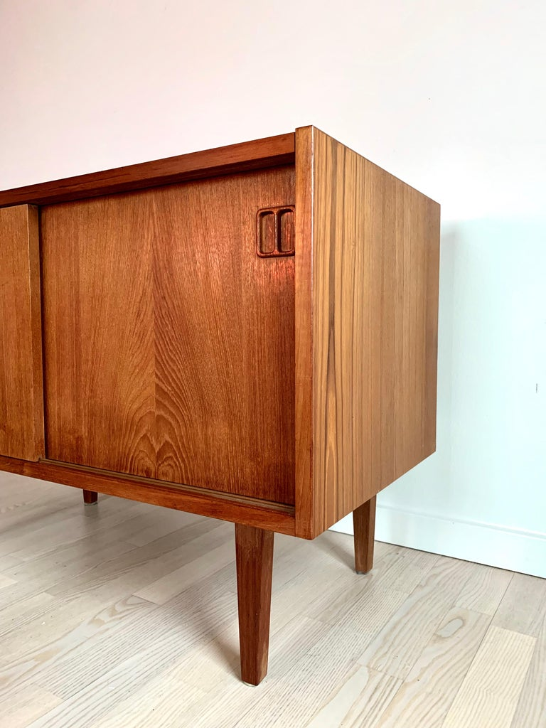 E.W Bach Danish Design Sideboard Teak For Sale 5