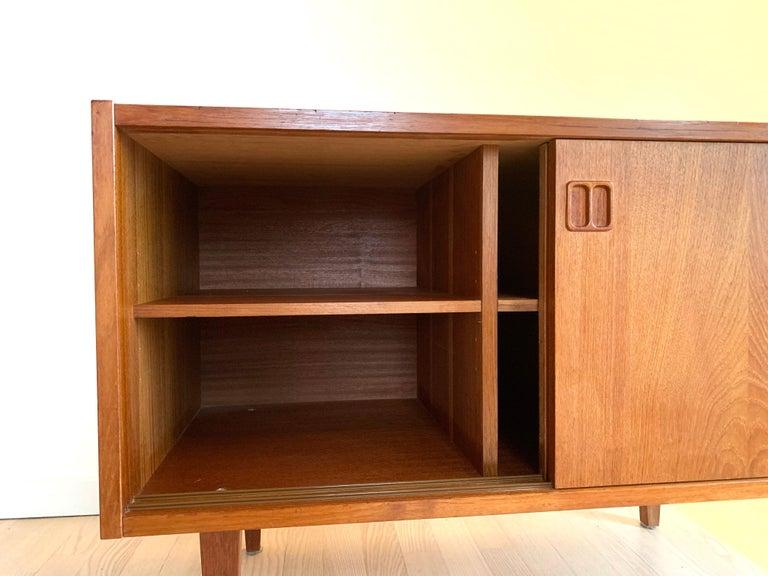 E.W Bach Danish Design Sideboard Teak For Sale 6