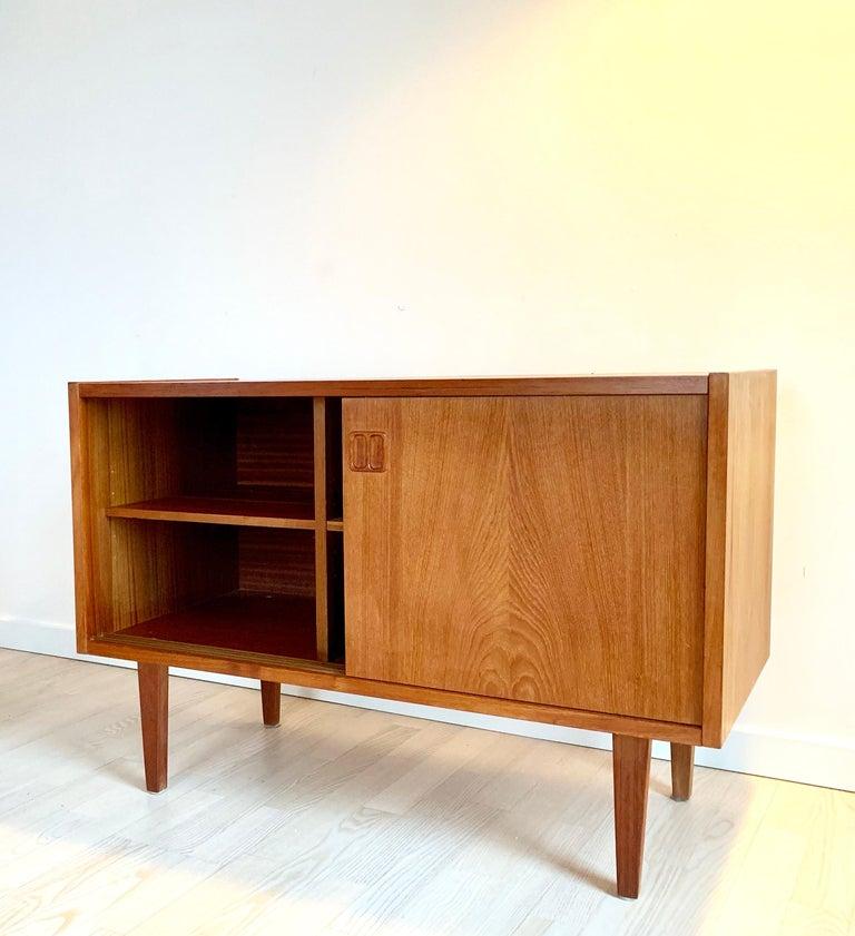 E.W Bach Danish Design Sideboard Teak For Sale 7
