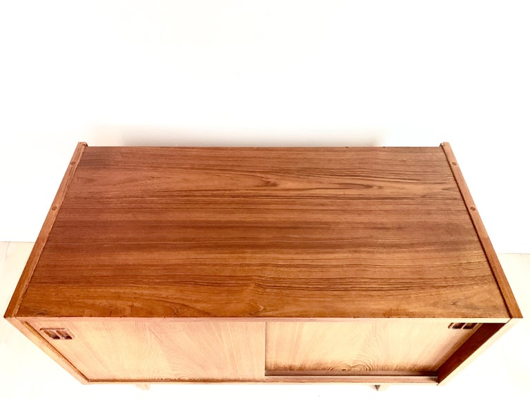 Mid-Century Modern E.W Bach Danish Design Sideboard Teak For Sale
