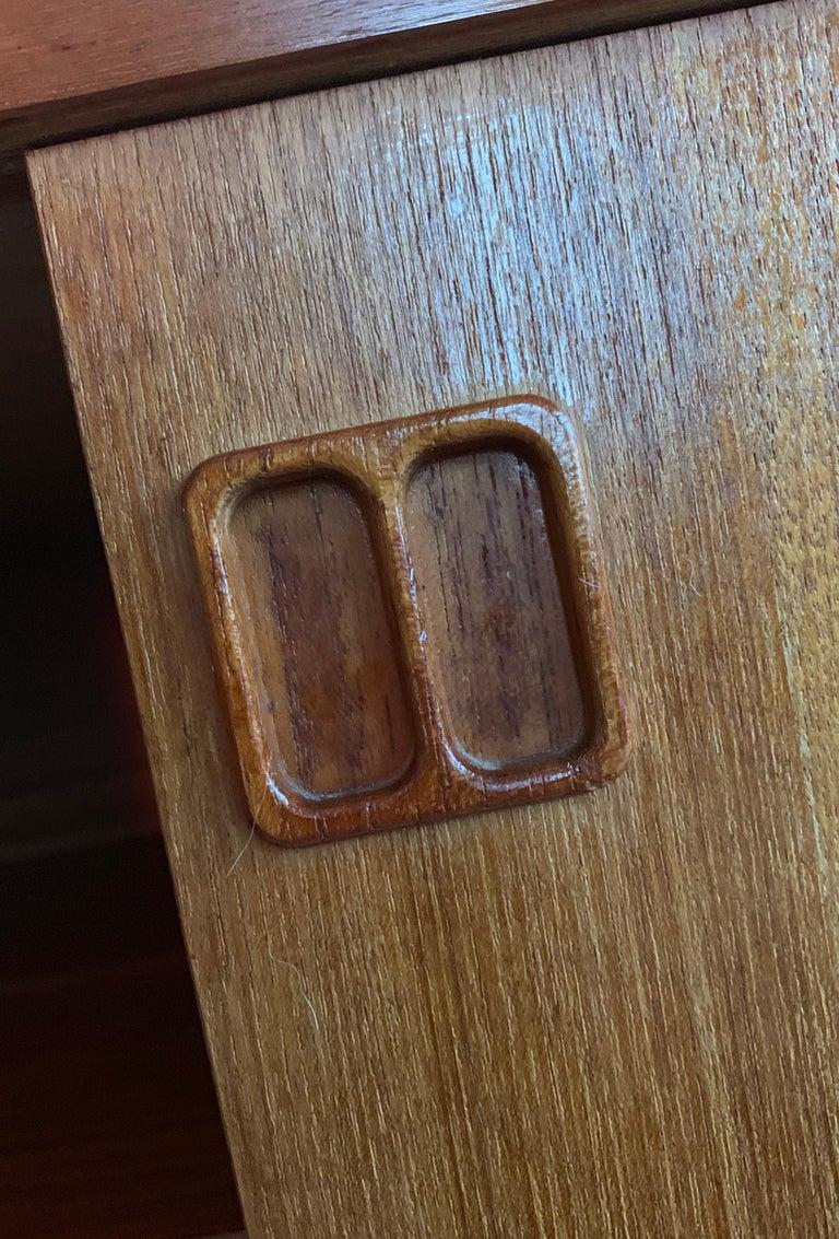 E.W Bach Danish Design Sideboard Teak For Sale 3