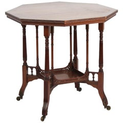 E.W. Godwin Style of an Anglo-Japanese Side/Centre-Table