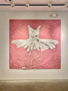 Rose, 2017 Acrylic on cloth 78.74 x 82.7 in. 200 x 210 cm