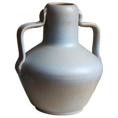 Ewald Dahlskog, Sizable Vase, Glazed Stoneware, Bo Fajans, Sweden, c. 1937