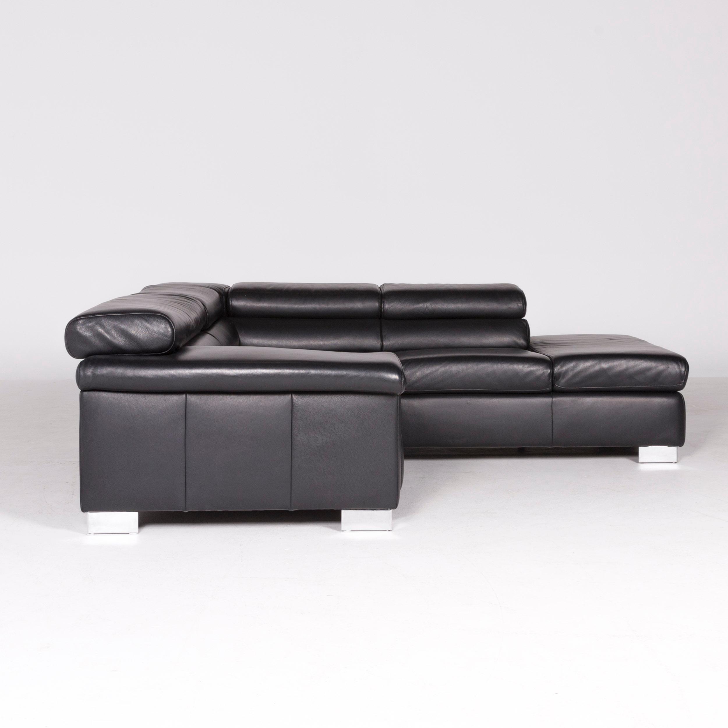 Excellent Ewald Schillig Brand Blues Designer Leather Corner Sofa Theyellowbook Wood Chair Design Ideas Theyellowbookinfo