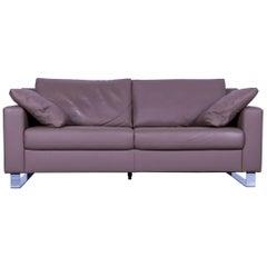 Ewald Schillig Concept Plus Leather Sofa Brown Two-Seat