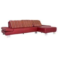 Rochester Chesterfield Corner Sofa and Footstool Oxblood Red ...