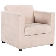 Ewald Schillig Fabric Armchair in Off-White