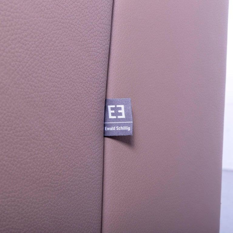 Ewald Schillig Leather Sofa Brown Three-Seat 2