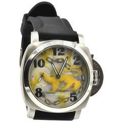 EWJ Stainless Steel custom multi-colored dial Automatic Wristwatch
