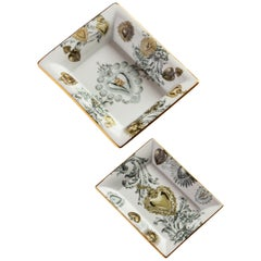 Ex Voto, Contemporary Porcelain Pocket Emptier, Two Sizes, by Vito Nesta