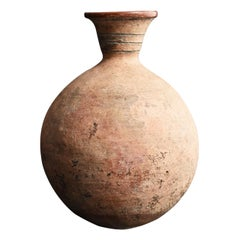 Excavated Earthenware Ancient Vases / Jar / Indus or Andean Civilizations