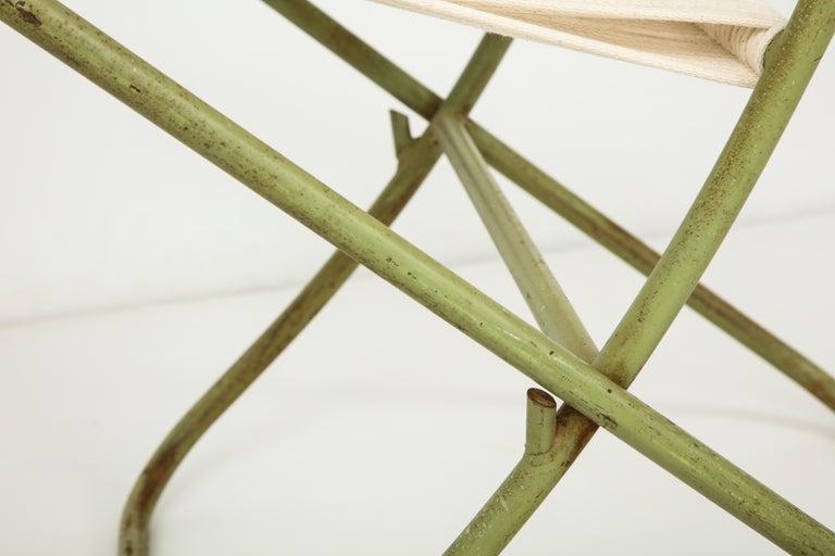 Exceedingly Rare Greta Grossman Folding Chairs For Sale 6