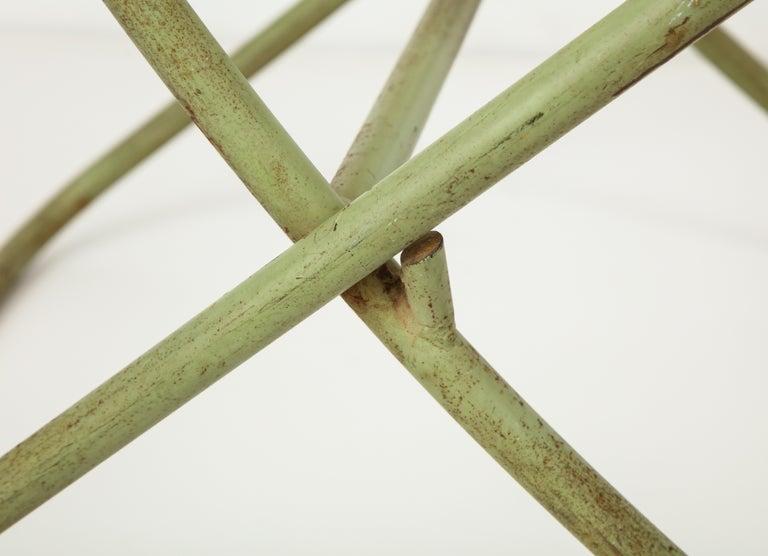 Steel Exceedingly Rare Greta Grossman Folding Chairs For Sale