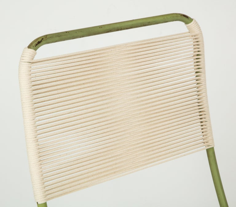 Exceedingly Rare Greta Grossman Folding Chairs For Sale 2