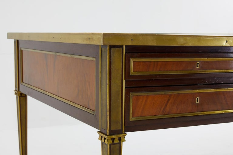 20th Century Excellent Quality Large 1960s French Desk For Sale