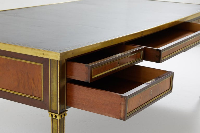 Ormolu Excellent Quality Large 1960s French Desk For Sale